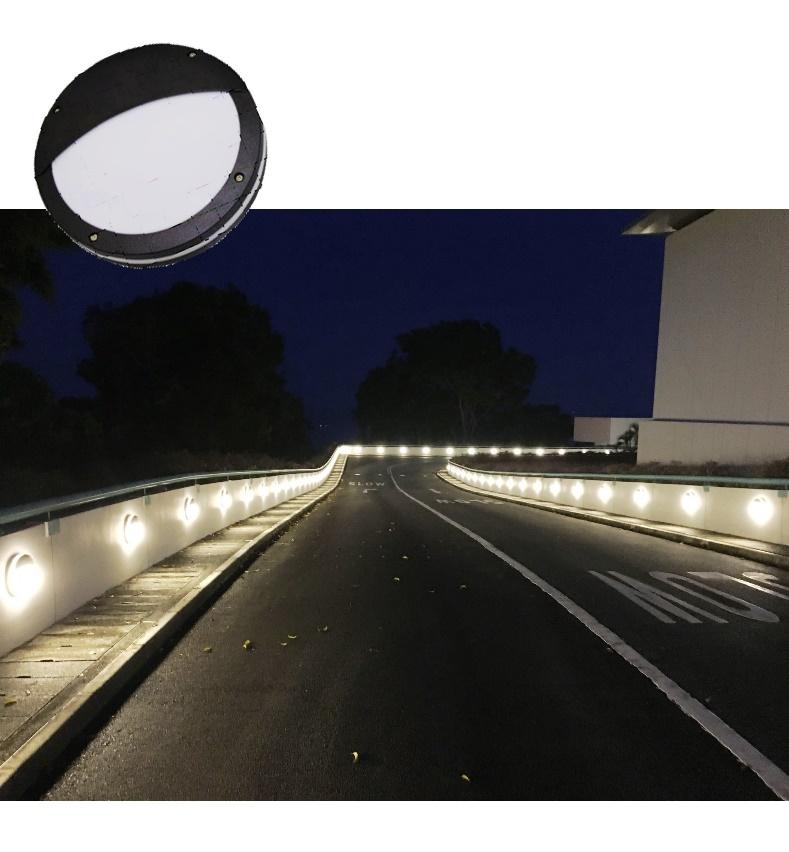 Rampway beacon lighting